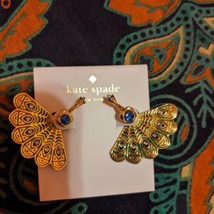 Kate Spade Peacock Earrings